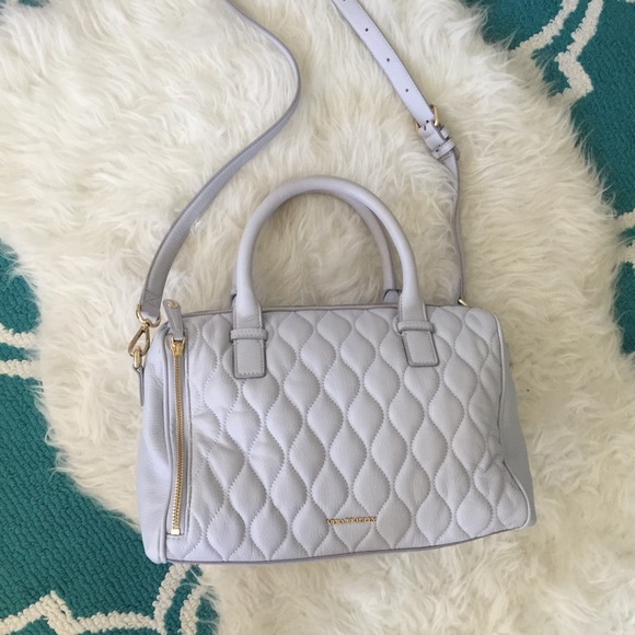Vera Bradley Handbags - Vera Bradley Quilted Leather Crossbody Satchel!
