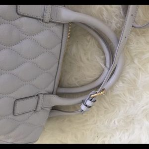 Vera Bradley Bags - Vera Bradley Quilted Leather Crossbody Satchel!