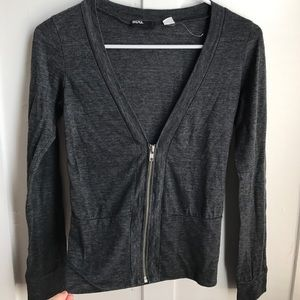 Sweaters - Cardigan with Zipper