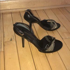 Narciso Rodriguez Shoes - Like New Narcisco Rodriguez chain heels Sz. 37.5