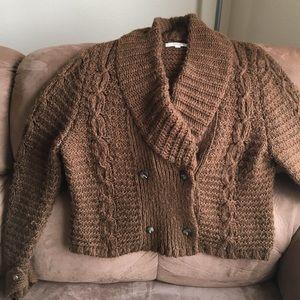 Super soft LOFT wool-blend cardigan
