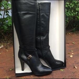 Banana Republic Shoes - Banana Republic Sophia Tall Black Leather Boot