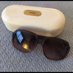 AUTHENTIC Chloe oversized sunglasses