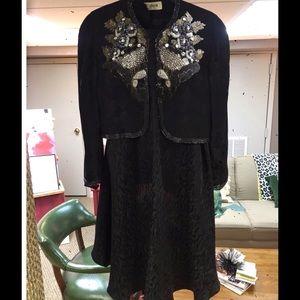 Vintage dress with jacket