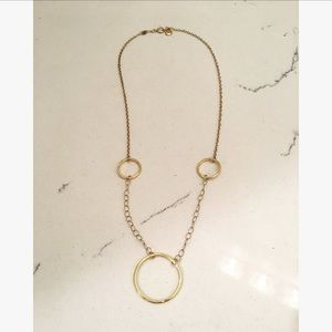 Gorjana Gold Ring Necklace