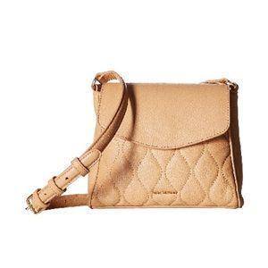Vera Bradley Tan Crossbody Mini Bag!