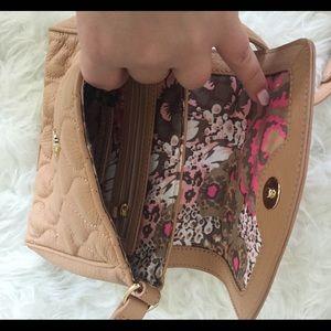 Vera Bradley Bags - Vera Bradley Tan Crossbody Mini Bag!