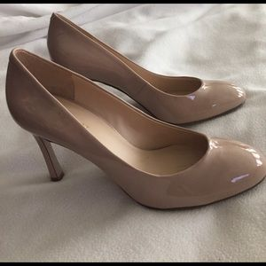 Nine West heels 7.5 nude
