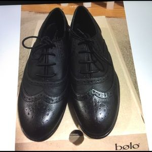 Studio Paolo Shoes - Studio Paulo Lace Up oxford women shoes black 6.5
