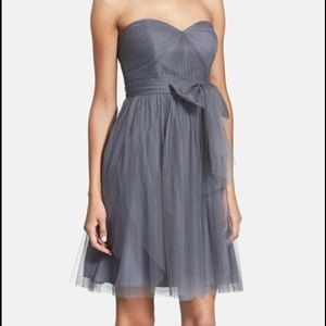 Jenny Yoo Wren Dress in Shadow Gray