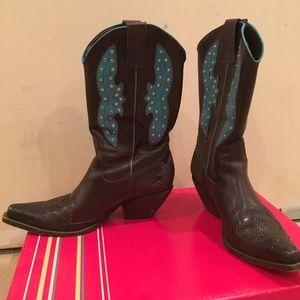 BCBG Cowboy Boots