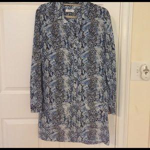 Equipment Dresses & Skirts - Equipment Silk shirtdress. Small. LIKE NEW