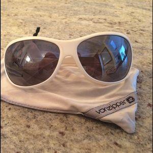 Von Zipper Accessories - Von Zipper white sunglasses
