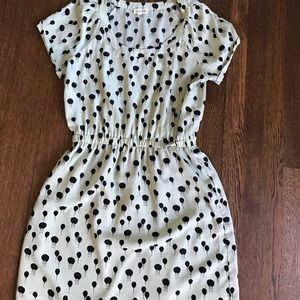 Sale!! Maison Jules Mint and Black Balloon Dress