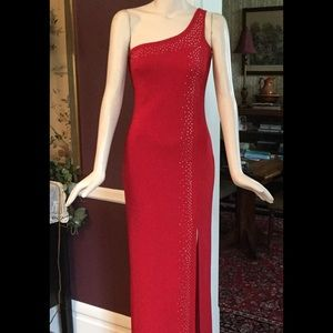 Taboo red evening dress size M