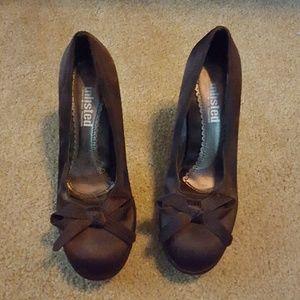 Brown Unlisted Heels