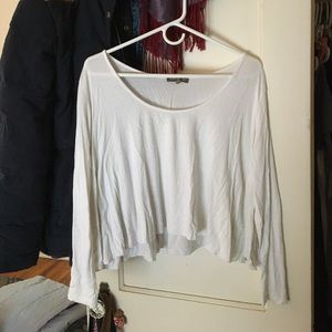 Don't Ask Why White Long Sleeve Tee