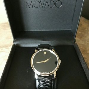 Movado Accessories - Wednesday sale,NWT Movado leather watch