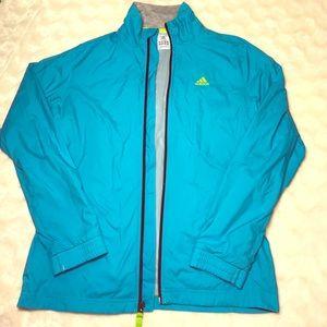 Adidas Jackets & Blazers - Adidas | Blue Track Jacket Windbreaker