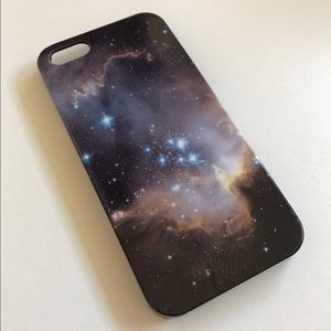Accessories - iPhone 5S Case - Galaxy Print
