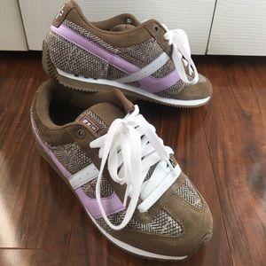 Globe Shoes - Globe Tweed and Lavender Sneakers