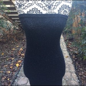 Navy knit BCBG Dress-- HOT!!