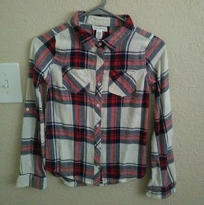 Tilly's Other - 💕Spring Sale💕🌟 NWOT 🌟 Plaid Long Sleeve Shirt