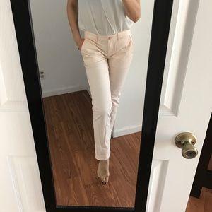 GAP Pants - Blush colored straight leg pant