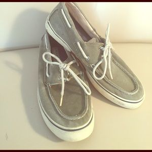 Sperry Top-Sider Other - Olive Green Sperrys Size 9.5