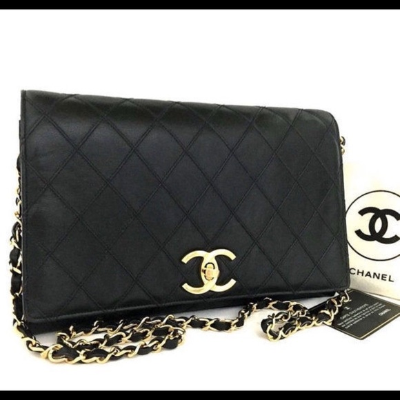 CHANEL Handbags - Authentic Chanel Quilted Chain Shoulder Bag a69a85937d13e