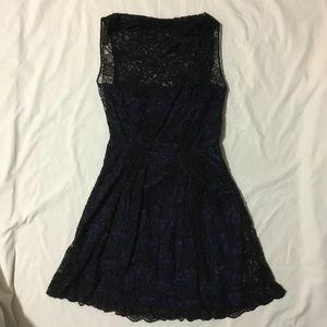 Sophie Theallet Dresses & Skirts - 2-Layer Black Dress w. Dark Blue Layer
