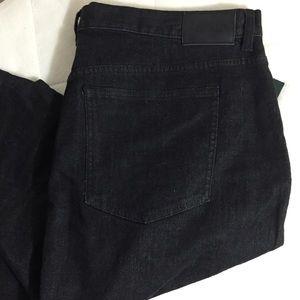 Lauren Ralph Lauren Dresses & Skirts - Lauren Ralph Lauren Black Jean Skirt Size 16