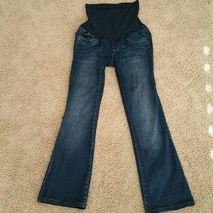 Indigo Blue Denim - Indigo blue xs boot cut blue jeans