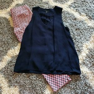 J. Crew Tops - Navy blouse from J Crew