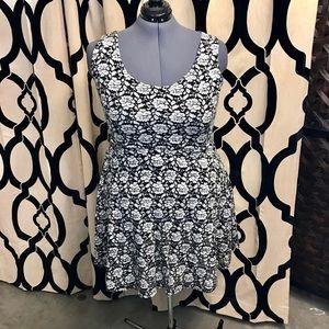 Maurice's Velvet Soft Burnout Dress