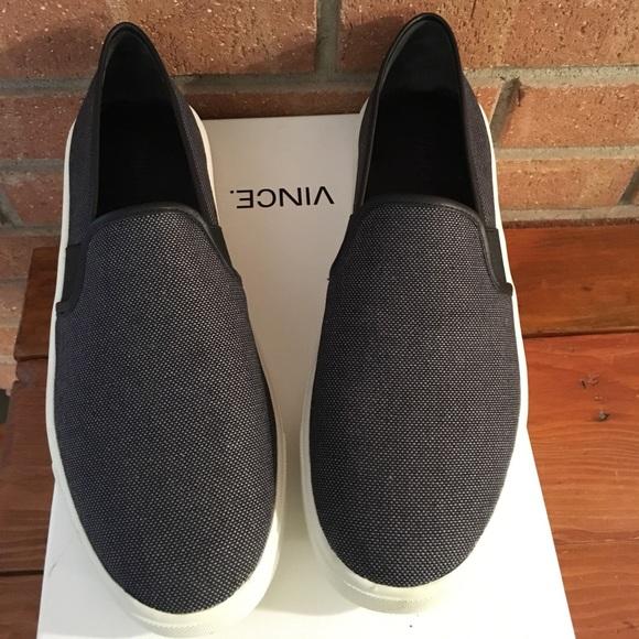 Vince Preston Canvas Slipon Sneakers 75