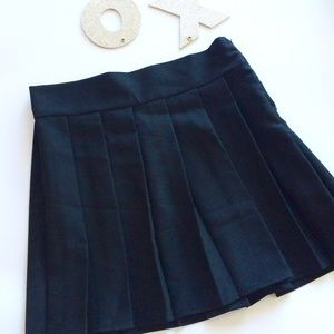Pleated Skirt