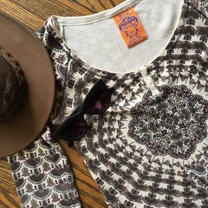 Free People thermal Henley