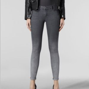 🌟HOST PICK🌟All Saints low rise skinny jeans