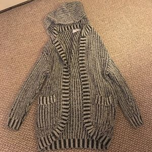 PacSun Sweaters - ☃️ Long hooded cardigan ☃️