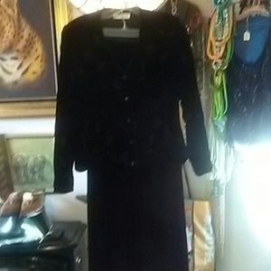 Coldwater Creek Dresses & Skirts - PRICE DROP!Coldwater Creek Velvet Jacket and Skirt