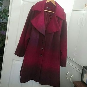 Romans  Jackets & Blazers - ombre winter coat