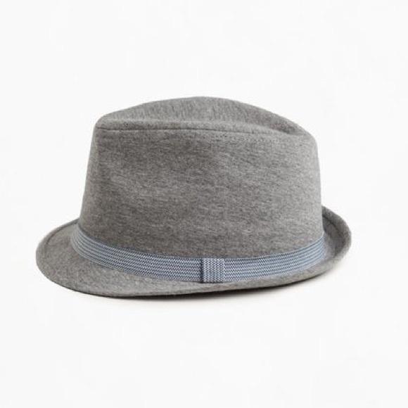 24a1b5db Zara Kids boys gray fedora hat in light gray NWT