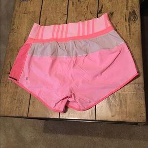 Lululemon Pink Shorts