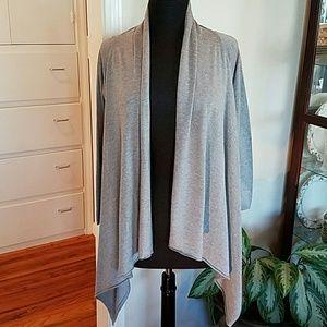 Zara Knit Open-front Cardigan