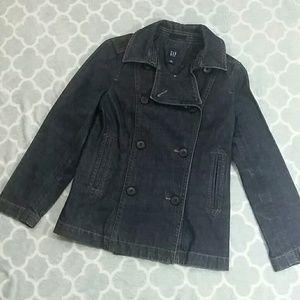 GAP Denim Jean Jacket Dark Wash Size Small