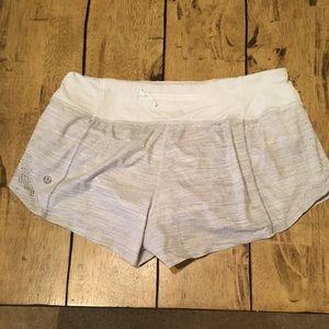 Lululemon Grey Running/workout Shorts
