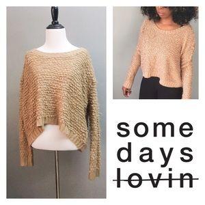 Somedays Lovin Sweaters - Somedays Lovin Sweater XSmall Women Tan