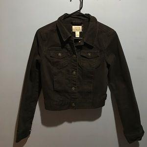 Forever 21 heritage h81 black denim jacket