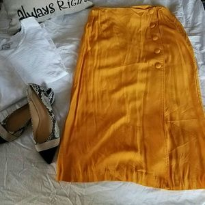 Vintage Mustard skirt